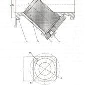 Фильтр осадочный фланцевый DN 100