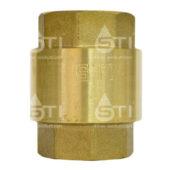 Клапан обратный пружинный  STI 15 (пластиковый шток)