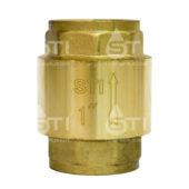 Клапан обратный пружинный  STI 25 (латунный шток)