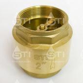 Клапан обратный пружинный  STI 50 (латунный шток)